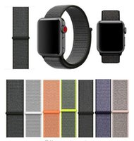 Nylon Sport Loop Strap For Apple Watch Band 42mm 38mm Series...