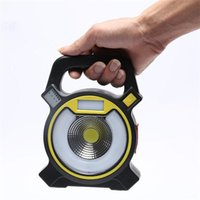 COB LED Work Light USB Rechargeable Handle Lamp Flashlight T...