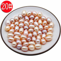 Wholesale AAA natural freshwater rice- shaped loose beads, 20...