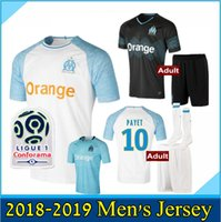Top quality 2018 2019 Olympique Marseille Soccer jersey Home...