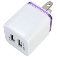 Discount Price 5V 2. 1+ 1A Double USB AC Travel US Wall Charge...