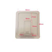 50 unids / lote Vape Pod Cartridges más nuevo Plástico Clamshell Blister Embalaje Para COCO portátil delgado Starter kit aceite vainas