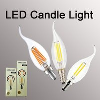 LED Filament Candle Light Bulb 2W 4W 6W E14 E12 Led Bulbs Li...