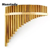 New Arrival C Key Pan Flute Right Hand 22 Pipes Music Instru...