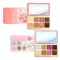 Brand Cosmetico Faced Sugar Cookie o Solletico Peach Mini Ombretto Make Up Palette Vacanze Chirstmas 8 colori palette di ombretti