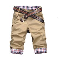 NEW Fashion Summer Cotton Shorts Men Fashion Breathable Male...