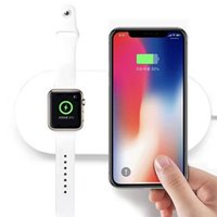 For Apple iphone 8 8Plus X And iwatch 2 In 1 Mini Ai Power C...