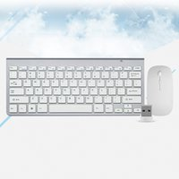 Smooth Body 2. 4GHz Wireless Keyboard and Mouse Combo 102 Key...