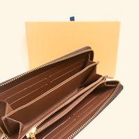M60017 Zippy Cüzdan Tasarımcısı Bayan Zipped Anahtar Para Kart Tutucu Günlük Çanta Mini Kılıfı Pochette CLE Organizatör Zarfpe Carte de Visite Metis Felicie Charm Adı Etiketi