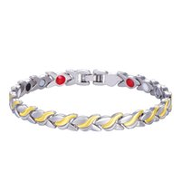 Unisex Health Energy Germanium Magnetic Bracelet for women M...