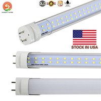 IN STOCK T8 LED Tubes 4ft 1. 2m 1200mm Double row 2 line LED ...