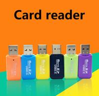متعددة الأغراض قارئ بطاقة ذاكرة الهاتف المحمول عالية السرعة USB 2.0 مايكرو SD قارئ بطاقة محول 4GB 8GB 16GB 32GB 64GB TF بطاقة