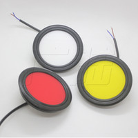 1 Pair COB Truck Tail Lights Indicator Warning Lamp for Bus ...