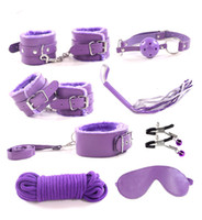 14 pcs Bondage Beginners Starter Kit Pack Cuffs Restraint Fe...