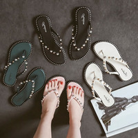 New 2018 Woman Summer Sandals Rivets big Flip Flops Beach Sa...