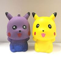2 pz / set Squishy Galaxy pet mon Kawaii Squishies Rising lenta PU Simulazione Durevole Soft Scented Relief giocattolo Squishy novità decompressione giocattolo