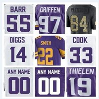 ee6528224 New Arrival. Minnesota Stefon Diggs Vikings jersey Dalvin Cook Everson  Griffen american football jerseys elite game mens womens youth ...