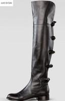 2018 جديد إمرأة الركبة أحذية عالية الأزياء بوينت تو بووتي أحذية جلدية سوداء أحذية حزب أحذية مثير النساء الجوارب الطويلة