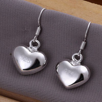 Fine 925 Sterling Silver Earring for Women XMAS Fashion 925 ...