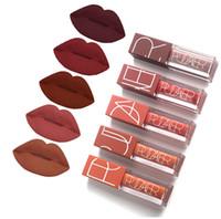 Wholesale chaude longue durée de velours lèvres de velours de velours liquide liquide lèvres mate beauté cosmétiques sexy pigment nu