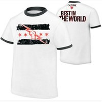 Summer New Hot manga corta de lucha CM Punk Best Since Day One camiseta de hombre Print 2018 Camisetas para hombre