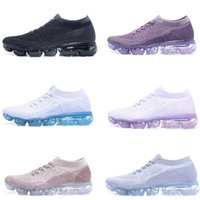 WMNS Arctic Pink Vapormax Running Shoes Triple Black Purple ...