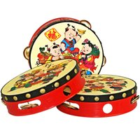 2018 new style Chinese style Children' s hand clap drum ...