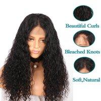 13 * 4 parrucche anteriori del merletto Remy Virgin Deep Sload Wave Wave Bebel Hair Pred Natural Natural Heatsline