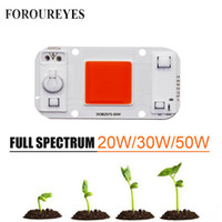 Led Plant Grow Light Driveless AC 220V 20w 30w 50w Cob Chip ...