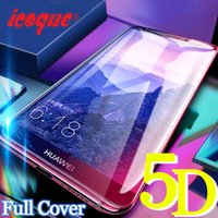 5D Tempered Glass for Huawei P20 Lite Screen Protector Honor...