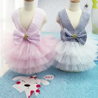Cute Pet Dresses Dog Dress Pet Cat Clothing Puppy Tutu Shirt...