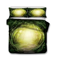 3d ART Print Bedding Set 3pcs Forest Passage Duvet Covers Pi...