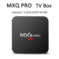Factory MXQ PRO 4K Android 7. 1 Tv Box Quad Core 1GB 8GB H3 C...