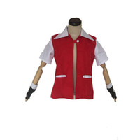 Ash Ketchum Red Jacket Cosplay Costume Unisex personalizzato