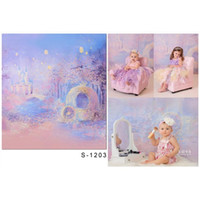 Watercolor Painting Kids Background for Photography Printed ...