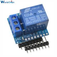 1 Satz Wemos D1 Mini Schild Ein Kanal D1 Modul Für Arduino ESP8266 Entwicklungsboard Freies Verschiffen