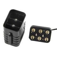 自転車LEDライト用EYホルダー5V 12V 6×18650 USB電源バッテリー収納ケースボックス