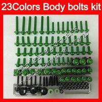 Fairing bolts full screw kit For HONDA VFR400RR 94 95 96 97 98 NC35 VFR400 RR 1994 1995 1996 97 1998 Body Nuts screws nut bolt kit 25Colors