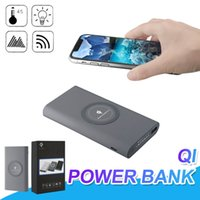 Qi Wireless Power Bank High Capacity 10000 mAh Portable Wire...