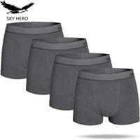 Male Underpants Boxer Shorts Sexy Mens Underwear Casual Men ...