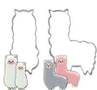 Cuocere stampo in acciaio inox cottura Stampi fumetto figura animale cute pecore favore Moda bambini Cookies Bakeware 1 4DZ ii