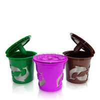 Refillable Coffee Capsule Cup Multiple Color Doiphin Reusabl...