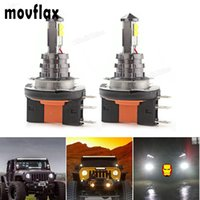 headlight 12 2pcs! 20W H15 LED Car Fog Light Bulb White Head...