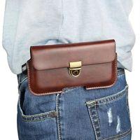 العالمي بو الجلود حزام كليب الحقيبة غطاء القضية لسامسونج غالاكسي J7 زائد / On7 رئيس / S9 زائد