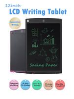12 بوصة LCD الرسومات قرص الرسم الكتابة متن رقيقة جدا وسادات خط اليد قرص الإلكترونية المحمولة الكتابة الإلكترونية للأطفال هدية