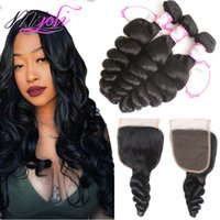 Brazilian Mongolian Virgin Human Hair Weave Unprocessed Loos...