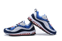 Men 98 Gundam Tour Yellow Red Blue Running Shoes Adult Athle...