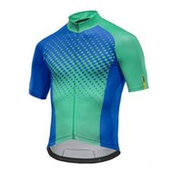 2019 summer Mavic Cycling Jersey Men Short sleeve mtb bike s...