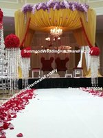 Crystal Pillar für Hochzeit Gehweg, Hochzeit Dekoration Crystal Pillar
