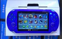 4GB مزدوجة الروك لعبة وحدة التحكم كاميرا 4.3 بوصة PMP المحمولة لعبة لاعب MP4 MP5 لاعب فيديو FM المحمولة وحدة التحكم لعبة
